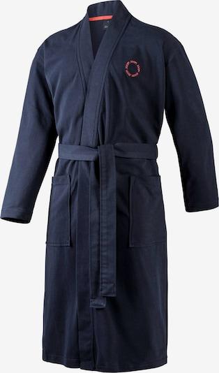 JOOP! Badjas lang  in de kleur Donkerblauw, Productweergave