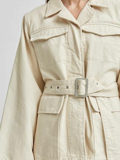 SELECTED FEMME Übergangsjacke in beige, Produktansicht