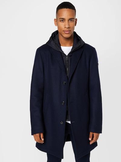 JOOP! Manteau mi-saison 'Mailor' en bleu nuit / bleu foncé, Vue avec modèle