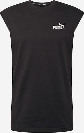PUMA Funkčné tričko - čierna / biela, Produkt