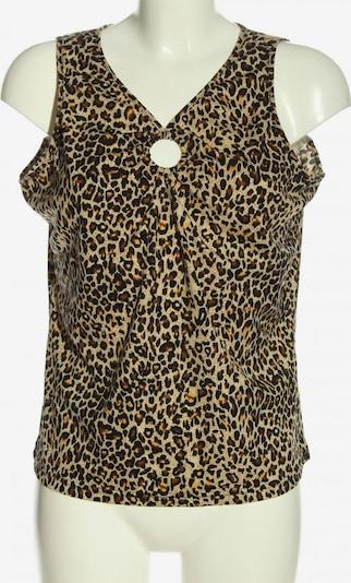 X-Mail ärmellose Bluse in XXL in creme / braun / schwarz, Produktansicht