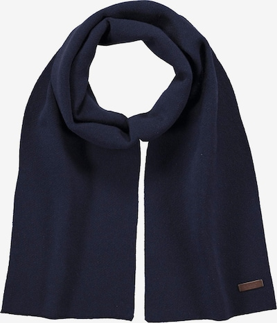 Barts Scarf in marine blue / Brown, Item view