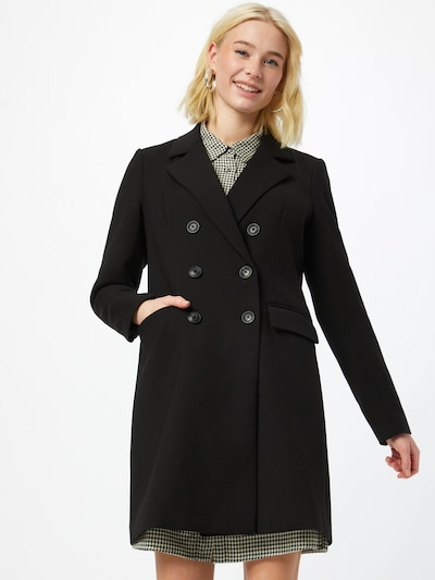 Palton de primăvară-toamnă VERO MODA pe negru, Vizualizare model