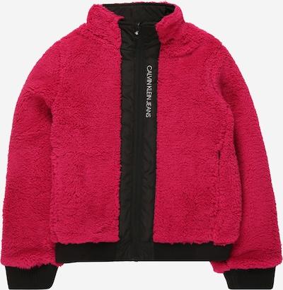 Giacca di mezza stagione Calvin Klein Jeans di colore ciclamino / rosa scuro / nero, Visualizzazione prodotti