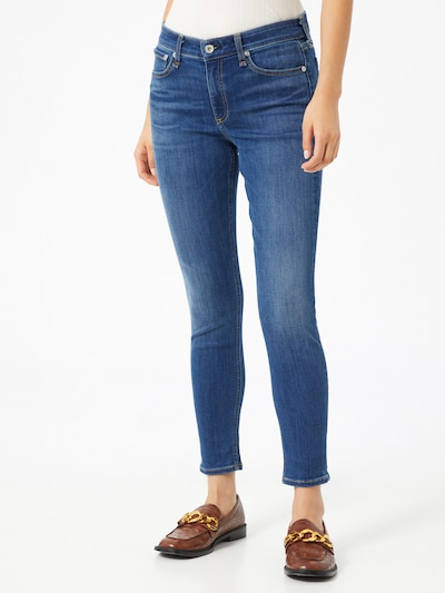 rag & bone Jeans 'Cate' in blue denim: Frontalansicht