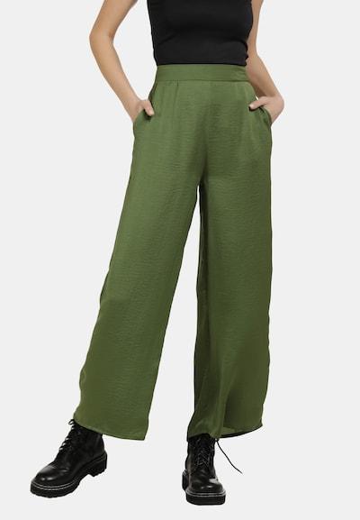 DreiMaster Vintage Culotte Hose in grün, Modelansicht