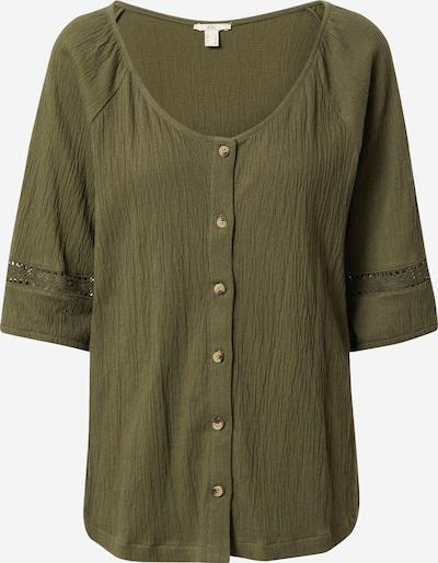 EDC BY ESPRIT Bluse in khaki, Produktansicht