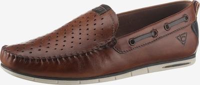 bugatti Mocasines en marrón / marrón oscuro, Vista del producto