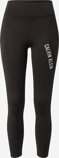 Calvin Klein Performance Спортен панталон в черно / бяло, Преглед на продукта