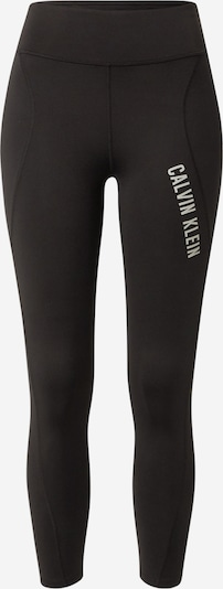 Calvin Klein Performance Športové nohavice - čierna / biela, Produkt
