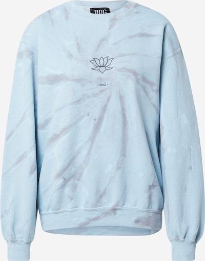 BDG Urban Outfitters Sweat-shirt 'LOTUS SOUL' en bleu / bleu clair, Vue avec produit