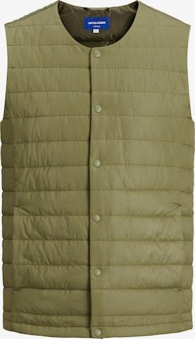 JACK & JONES Vest 'Brink', värv roheline