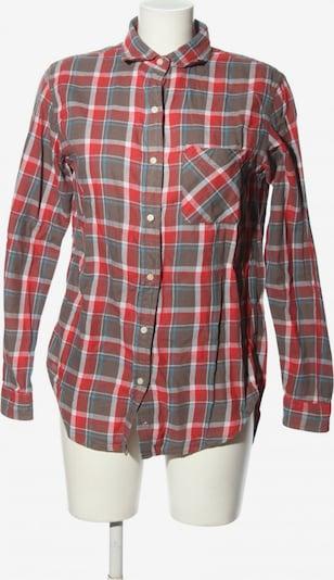 DENIM & SUPPLY Ralph Lauren Langarmhemd in M in hellgrau / rot / weiß, Produktansicht