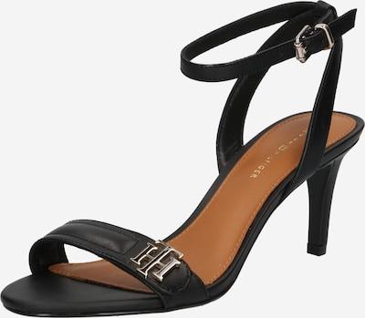 TOMMY HILFIGER Strap sandal in Black, Item view
