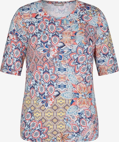 Rabe Shirt in blau / gelb / rot, Produktansicht
