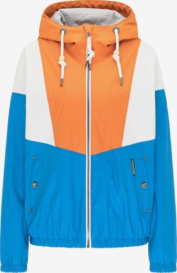 Schmuddelwedda Jacke in himmelblau / orange / weiß, Produktansicht