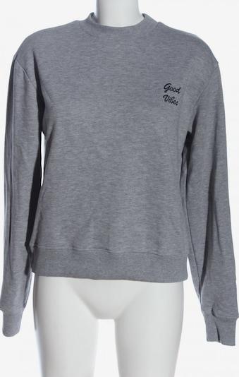 NA-KD Sweatshirt in S in hellgrau, Produktansicht
