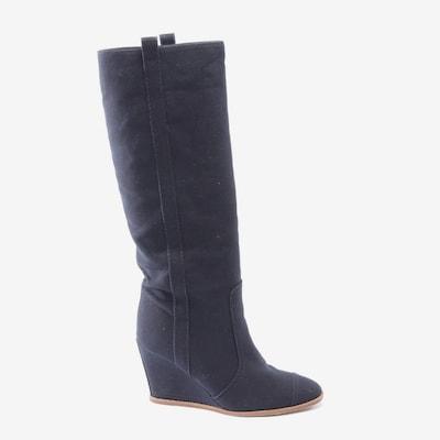 CHANEL Stiefel in 39,5 in dunkelblau, Produktansicht
