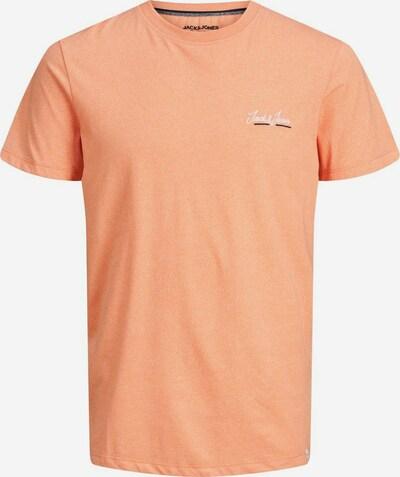 JACK & JONES Shirt 'TONS' in de kleur Perzik / Zwart / Wit, Productweergave