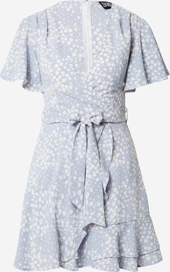 Parallel Lines Robe en bleu clair / blanc, Vue avec produit