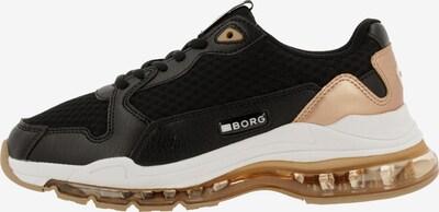 BJÖRN BORG Sneaker in beige / schwarz / weiß, Produktansicht
