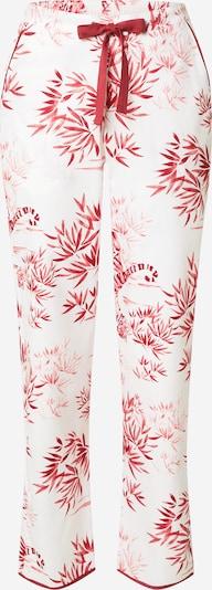Cyberjammies Pantalon de pyjama 'Kristen Tiger' en pitaya / rose clair / blanc, Vue avec produit