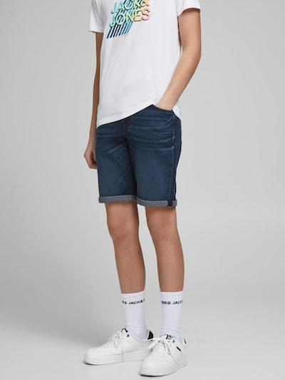 Jack & Jones Junior Shorts 'Rick' in dunkelblau: Frontalansicht