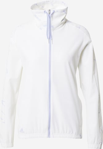 adidas Golf - Chaqueta deportiva en blanco