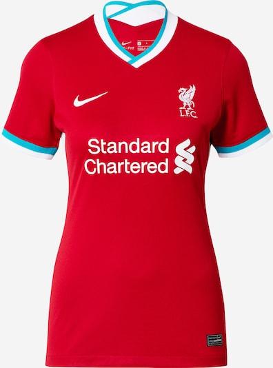 NIKE Maillot 'Liverpool FC 2020/21 Stadium Home' en turquoise / rouge / blanc, Vue avec produit