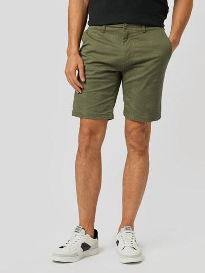 sötétzöld / vegyes színek BLEND Nadrág, Modell nézet