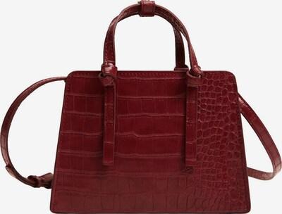 MANGO Handväska 'BOLSO' i mörkröd, Produktvy