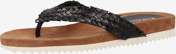 LAZAMANI Sandale in Schwarz