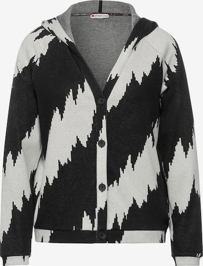 STREET ONE Knit cardigan in Light grey / Black, Item view