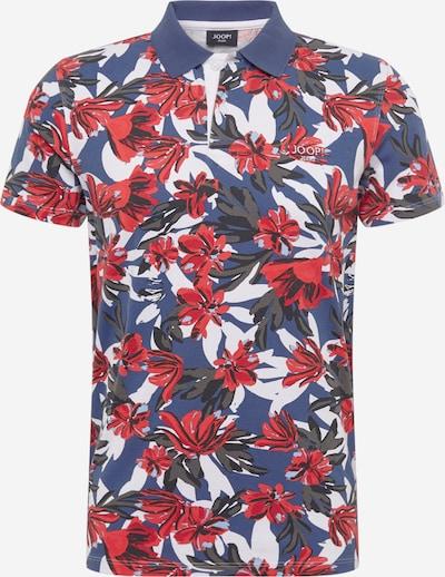 JOOP! Jeans T-Shirt 'Carwyn' en bleu marine / gris / rouge / noir / blanc, Vue avec produit