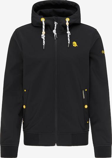 Schmuddelwedda Übergangsjacke in gelb / schwarz, Produktansicht