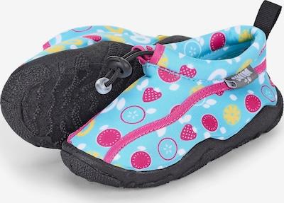 STERNTALER Plážové / kúpacie topánky - tyrkysová / žltá / cyklaménová / biela, Produkt