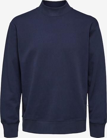 SELECTED HOMME Sweatshirt i blå