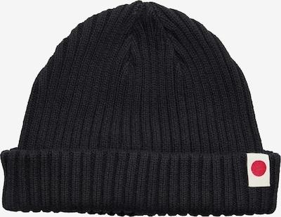 JACK & JONES Mütze in karminrot / schwarz / naturweiß, Produktansicht