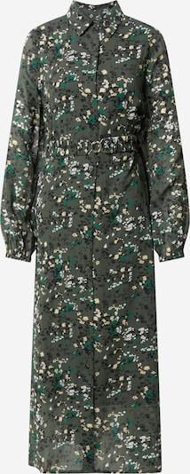 Rochie tip bluză 'Barbel' InWear pe galben deschis / oliv / alb, Vizualizare produs