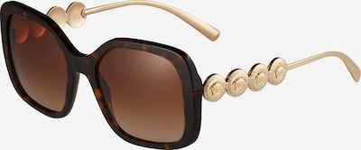 Occhiali da sole VERSACE di colore marrone scuro / oro, Visualizzazione prodotti