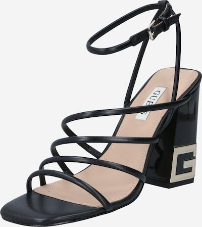 GUESS Sandales à lanières 'TACEY' en noir, Vue avec produit