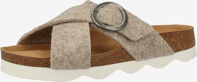 SHEPHERD Mule en greige, Vue avec produit