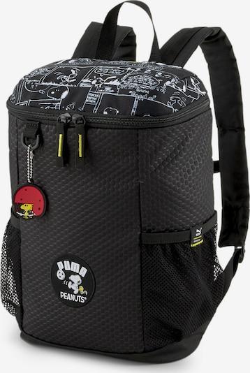 PUMA Sporttas 'PEANUTS' in de kleur Zwart, Productweergave