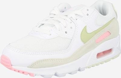 Sneaker bassa 'Air Max 90' Nike Sportswear di colore oliva / rosa / bianco, Visualizzazione prodotti