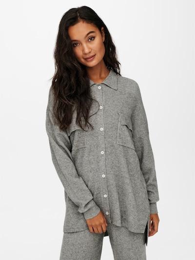 ONLY Hemd 'Kamma' in grau, Modelansicht