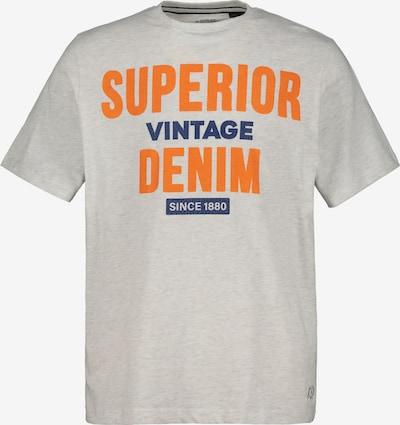 JP1880 T-Shirt en bleu foncé / orange / blanc cassé, Vue avec produit