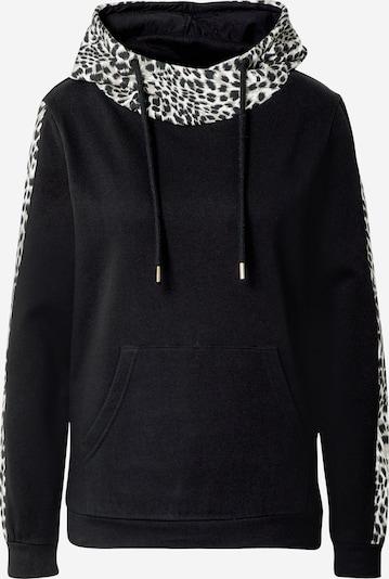 Key Largo Sweatshirt in greige / schwarz / weiß, Produktansicht