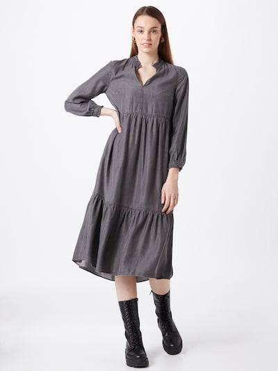 Whistles Kleid in anthrazit, Modelansicht