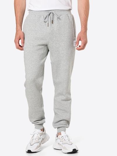 Mitchell & Ness Housut värissä meleerattu harmaa / valkoinen, Mallinäkymä