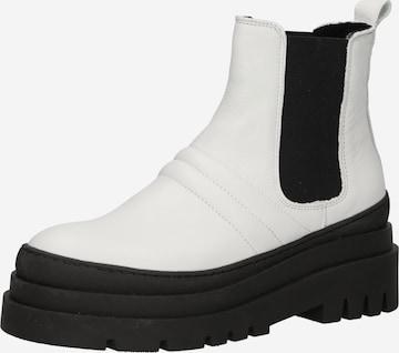 Chelsea Boots 'DEMA' Bianco en blanc